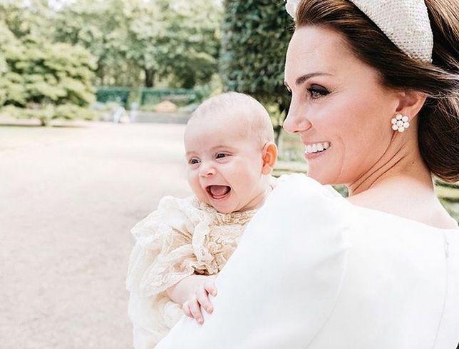 Księżna Kate nie pokazywała najmłodszego syna Louisa. Do teraz!