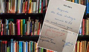 Niezwykłe znalezisko w książce. Internauci szukają Andrzeja z Gdańska