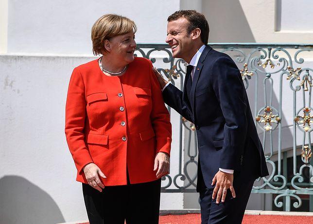 Informację o oddzielnym budżecie strefy euro prezydent Francji przekazał po rozmowie z Angelą Merkel w zamku Meseberg w Brandenburgii