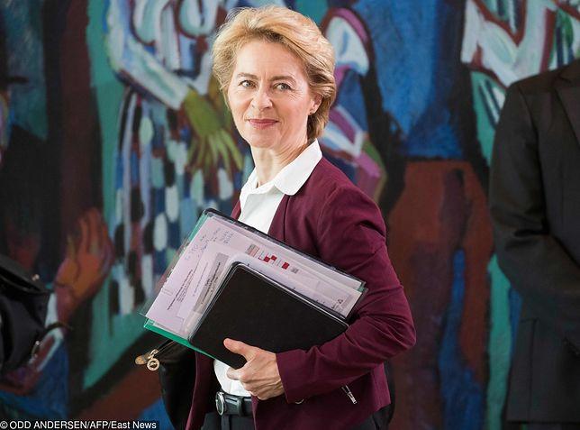 Ursula von der Leyen kandydatka na szefa KE. PiS ogłasza sukces