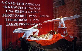 """Wielkanocny """"Grób Chrystusa"""" w Bazylice św. Brygidy"""
