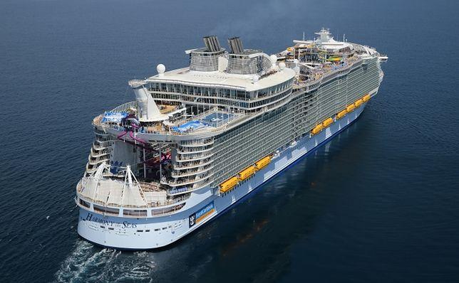 Harmony of the Seas - największy statek pasażerski na świecie