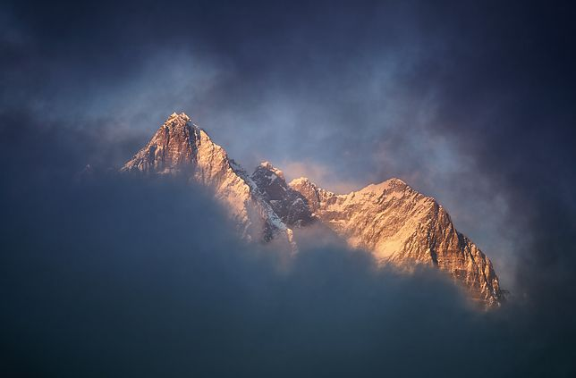 Widok na Lhotse
