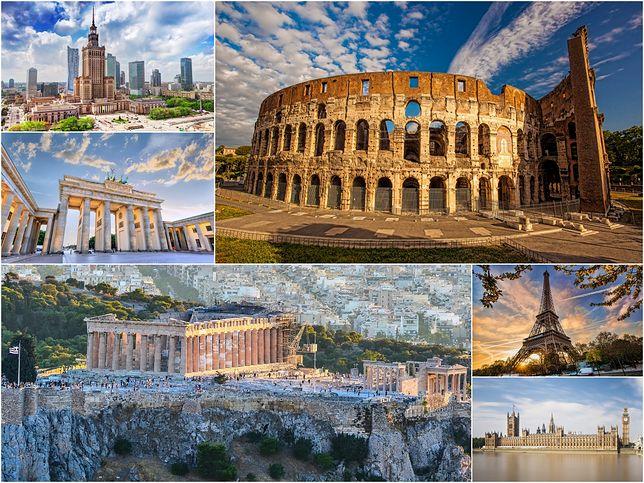 Popularne obiekty w europejskich stolicach