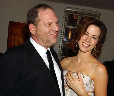 Harvey Weinstein i Kate Beckinsale w 2004 r. Trzy lata wcześniej miało między nimi dojść do skandalicznej kłótni