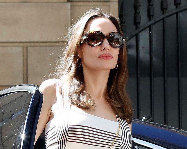 Angelina Jolie staje na nogi. Zbiera się po rozwodzie z Bradem Pittem