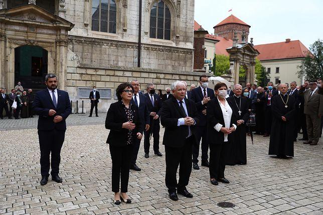 Wawel. 71. rocznica urodzin Lech Kaczyńskiego