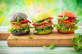 Burgery lub klops wegetariański