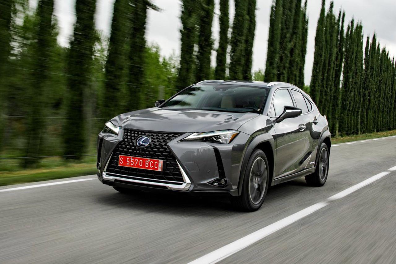 Lexus UX z najwyższymi wynikami w testach zderzeniowych