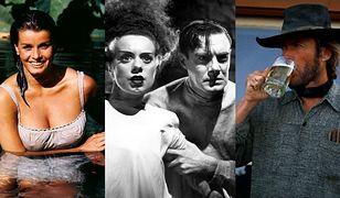 """Kadry z filmów: """"Major Dundee"""", """"Narzeczona Frankensteina"""" i """"Mściciel"""""""