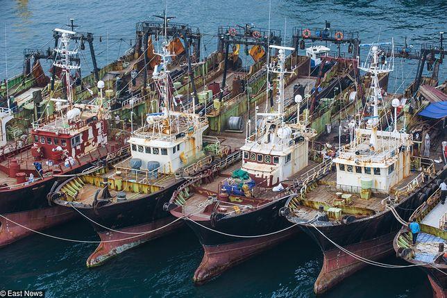Zderzenie kutrów na Morzu Japońskim. 13 osób zostało uratowanych