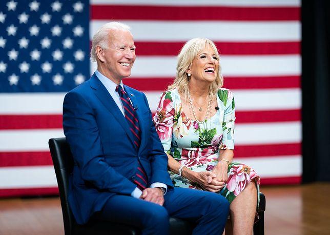 Joe Biden z żoną Jill Biden