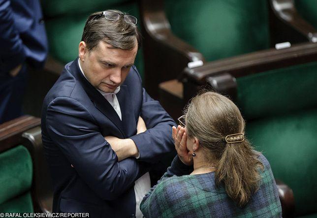 """Ziobro reaguje ws. Pawłowicz. Znany mecenas nazwał ją """"zwierzęciem"""""""
