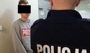Piaseczno. Wpadł, bo pochwalił się zdjęciem z napadu w internecie