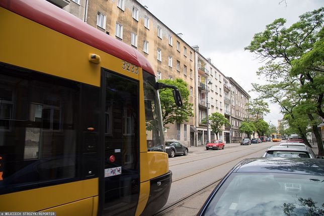 Warszawa. Koronawirus w tramwaju