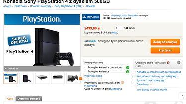 """""""Sony sprzedaje PS4 na Allegro o 600 złotych drożej niż w swoim oficjalnym sklepie"""". Czy aby na pewno?"""