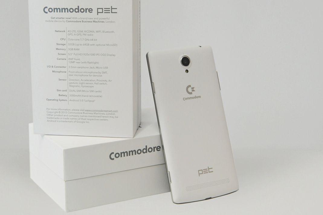 Smartfon Commodore PET: C-64 i Amiga w kieszeni