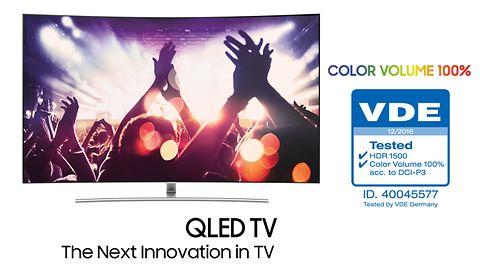 TV QLED: pełne natężenie kolorów niezależnie od jasności obrazu