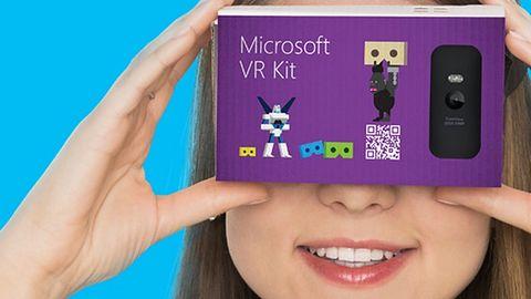 Karton, nożyczki i Lumie, czyli Microsoft wkrótce pokaże swe gogle VR dla ubogich