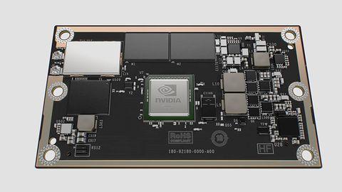 """Komputerek Nvidii wielkości karty kredytowej będzie """"mózgiem"""" autonomicznych dronów"""