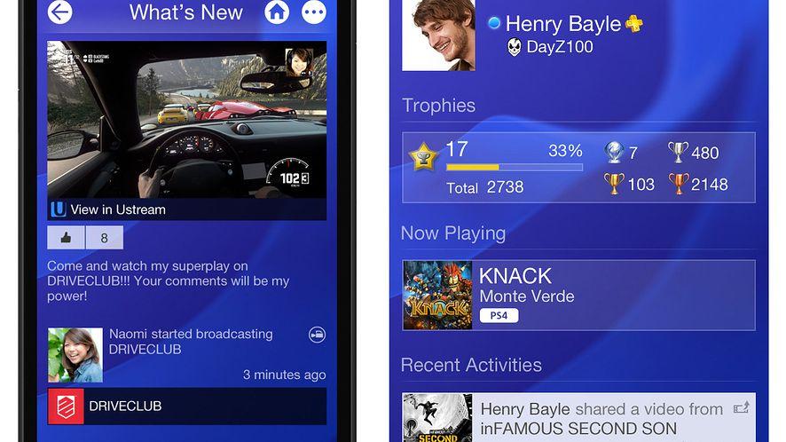 Sony pokazuje i objaśnia PlayStation App