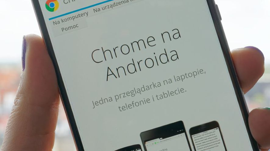 Chrome 61 dla Androida z nowym ekranem głównym i przebudowanym interfejsem