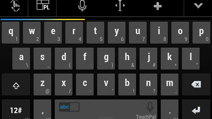 TouchPal X – klawiatura z prędkościomierzem