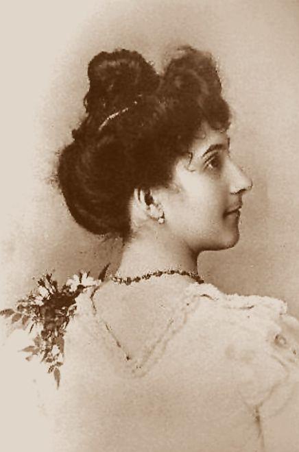 Jeanne Calment w wieku 20 lat, 1895