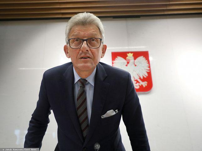 Stanisław Piotrowicz jest kandydatem PiS na sędziego TK
