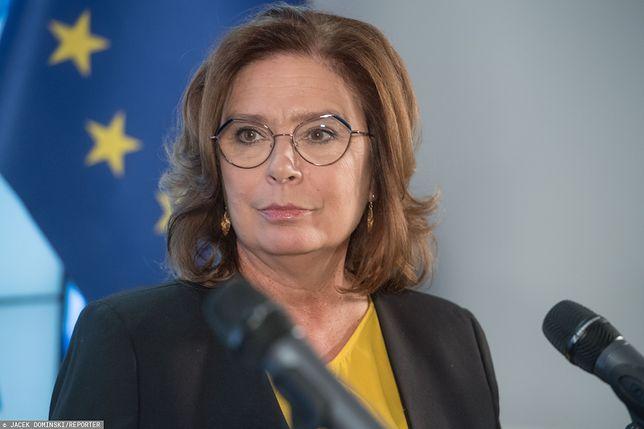 """Małgorzata Kidawa-Błońska ostro o Lewicy. Jeśli poprą PiS w sprawie zniesienia 30-krotności składek ZUS, """"są nic nie warci"""" – powiedziała posłanka PO."""