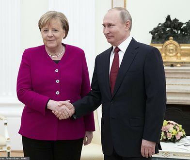 Nord Stream 2. Jest porozumienie z USA, Angela Merkel rozmawiała z Władimirem Putinem
