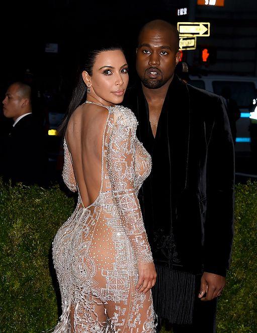 Kim Kardashian z mężem, Kanye Westem