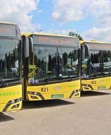 Sosnowiec. Autobusy już na trasach, wyróżniają się kolorem