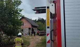 Łódzkie. Tragiczny pożar domu. Kobieta zasnęła z papierosem w ręku