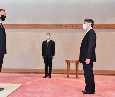 Andrzej Duda w Japonii. Igrzyska i dyplomatyczne spotkania