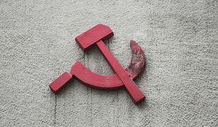 Sierp i młot to często spotykany symbol na demonstracjach ugrupowań lewicowych w Polsce