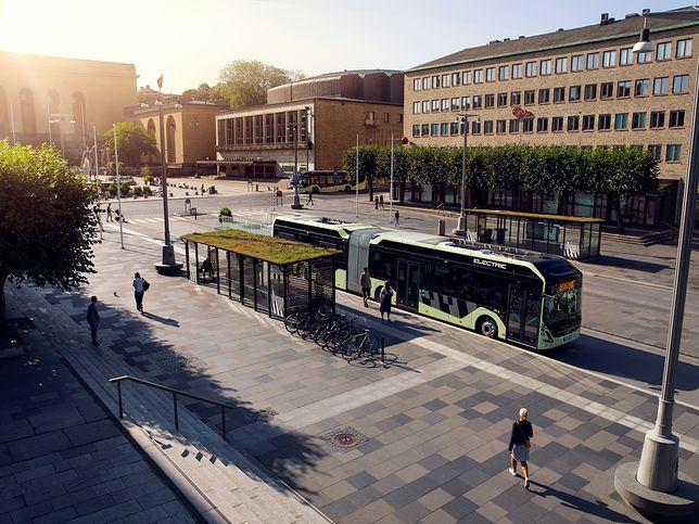 Volvo zaprezentowało nowy autobus elektryczny.