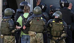 Białoruś. Nie żyje 25-latek zatrzymany podczas protestów (Photo by Natalia Fedosenko\TASS via Getty Images)