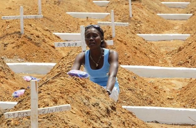 Liczba ofiar śmiertelnych obecnej epidemii eboli przekroczyła 10 tys.