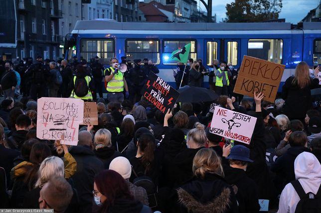Aborcja. Protesty w Częstochowie. Policja użyła gazu pieprzowego / foto ilustracyjne