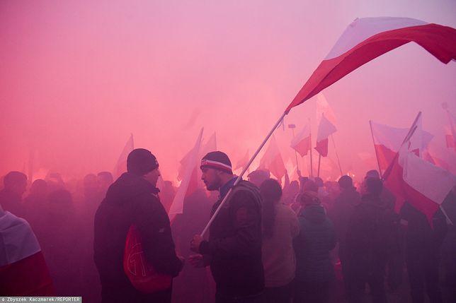 Marsz Niepodległości 2019 Warszawa przejdzie ulicami miasta 11 listopada