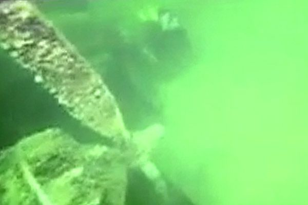 Na dnie Bałtyku przeleżał 70 lat. Akcja wydobycia utrzymana w ścisłej tajemnicy