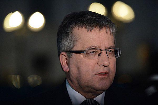 Spotkanie prezydenta z premierem w Belwederze