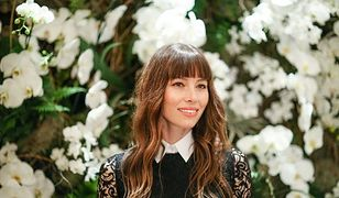LOOK OF THE DAY: Jessica Biel w koronkach Ralph Lauren