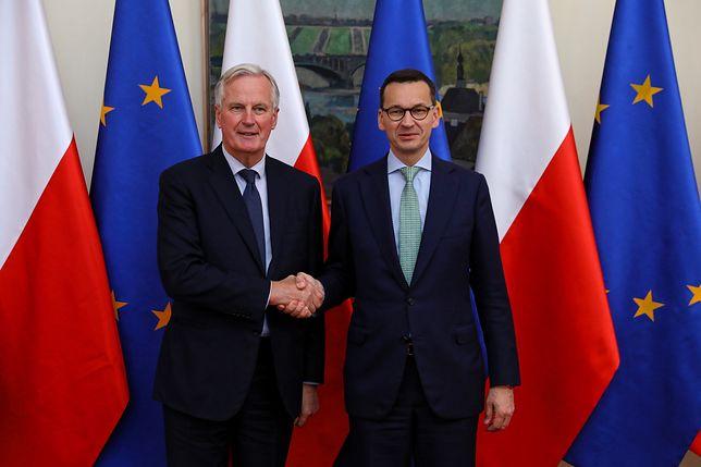 Mateusz Morawiecki spotkał się z przewodniczącym zespołu zadaniowego KE