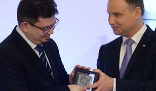 Wojciech Wencel i Andrzej Duda