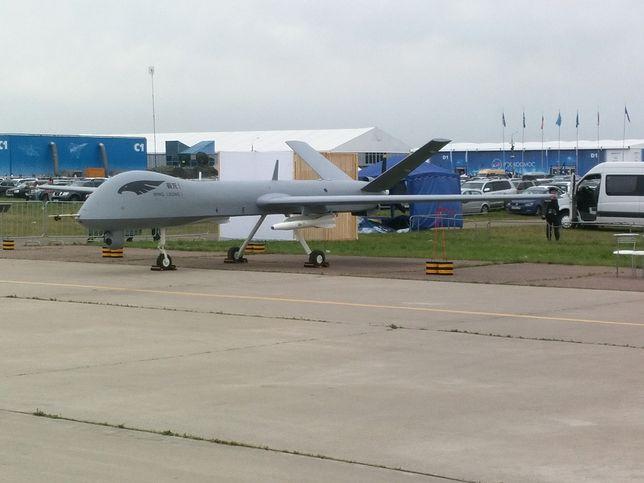 Chiński dron Wing Loong II wykorzystywany jest do działań bojowych i rozpoznawczych