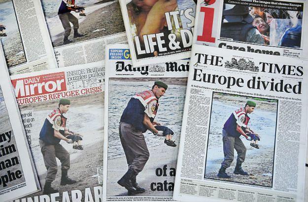 Niemieckie media o zdjęciu martwego chłopca z Syrii