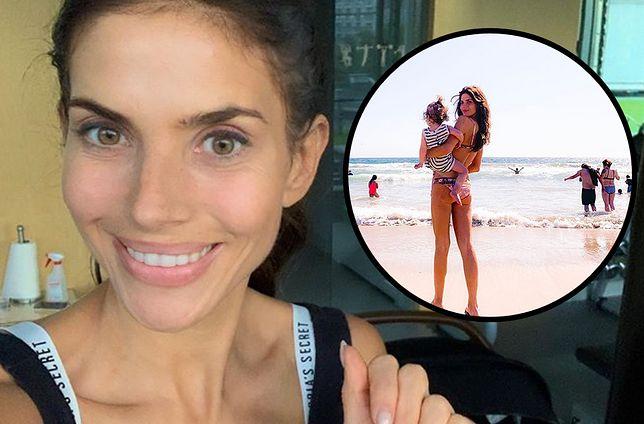 Weronika Rosati pokazała zdjęcia z plaży. Nie obyło się bez mistrza drugiego planu