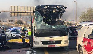 Tragedia w Dubaju. Wypadek autokaru. 17 osób nie żyje